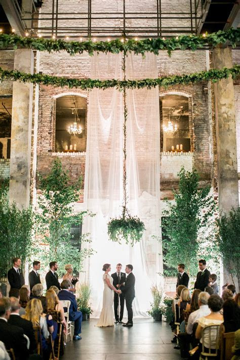 Aria Minneapolis Greenery Wedding   D J   Blush and Whim