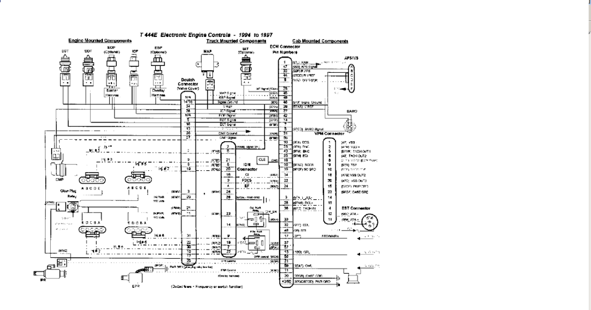 97 International 4700 Fuse Diagram