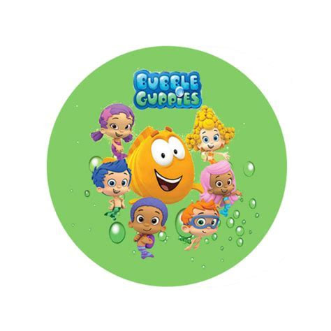 Characters : Bubble Guppies