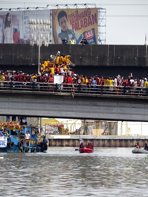 Procession of Black Nazarene  Quiapo Photographed by Bernard Eirrol Tugade
