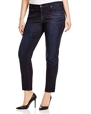 James Jeans Plus Twiggy Z Cigarette Jeans in Burlesque