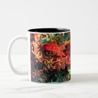 Relax Now: Modern Art 45.5 Mugs