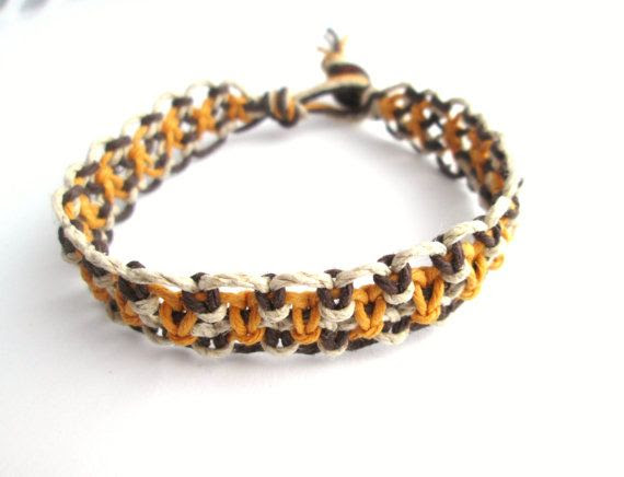 Simple Hemp Bracelet Men's Hemp Jewelry Unisex by JackZenHemp, $8.50 #natural #mens #womens #fashion #trending #spring #2014 #hemp #jewelry #bracelet #shop #etsy #handmade #smallbiz #etsyfinds #hempjewelry #macrame #hempbracelet