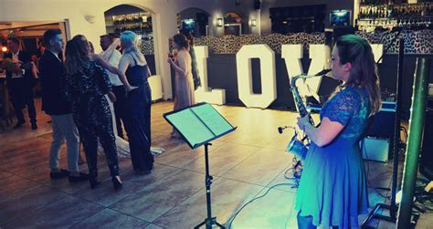 Wedding band and saxophone DJ at The Millhouse Restaurant
