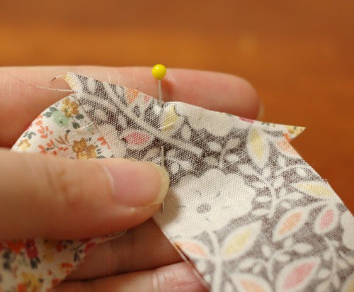 How to make a patchwork string 6