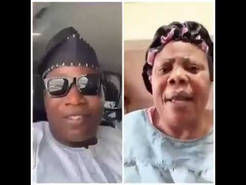 WAHALA!! Sunday Igboho Mother Pledges To Punish Whoever Touches Her Son Over Fulani Saga (VIDEO)
