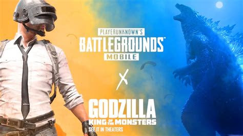 pubg mobile  godzilla king   monsters trailer youtube