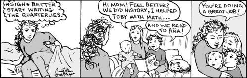 Home Spun comic strip #292