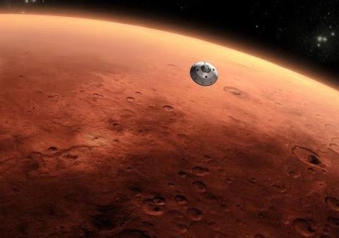 Martian Ballistic Entry