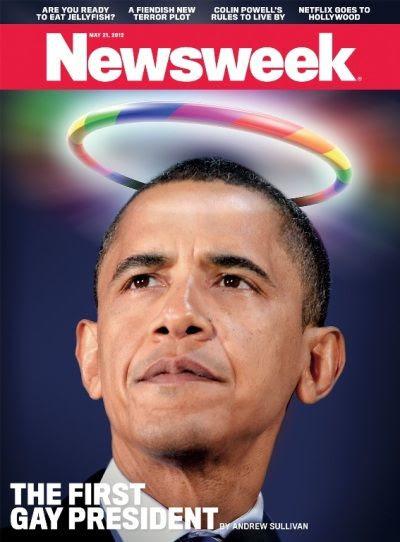 Obama foi chamado pela revista Newsweek de primeiro presidente gay