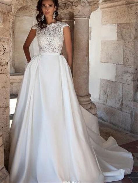 2016 Plus Size Maternity Wedding Dress Pockets Discount A