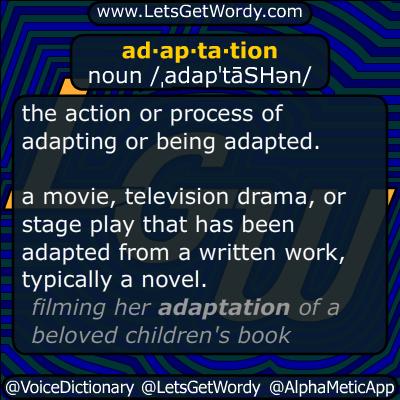 adaptation 08/01/2014 GFX Definition