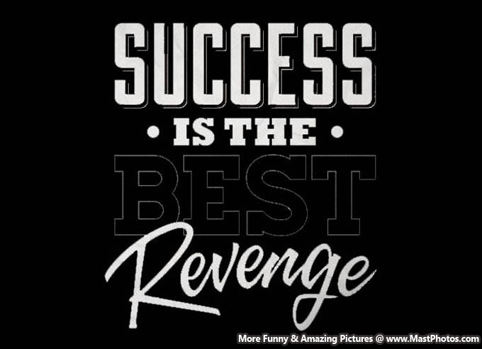 Quote About Sucess Success Is The Best Revenge