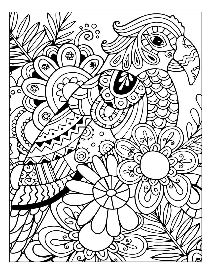 Stress Reducing Coloring Pages at GetColorings.com | Free ...
