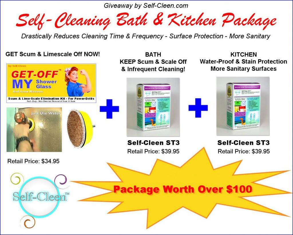 self cleen giveaway