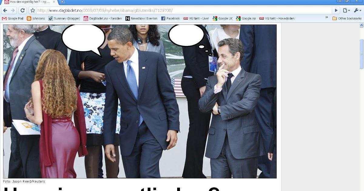 5e8d79a8 johncons: Dagbladet har en konkurranse, hvor man skal gjette hva Obama  sier. (In Norwegian)