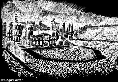 Gothic: Gaga Born Esta etapa Way parece ser um milhão de milhas de distância de sua encenação Monster Ball