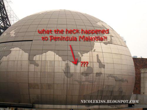 no malaysia globe