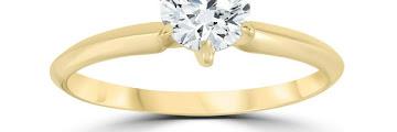 Gold Walmart Engagement Rings