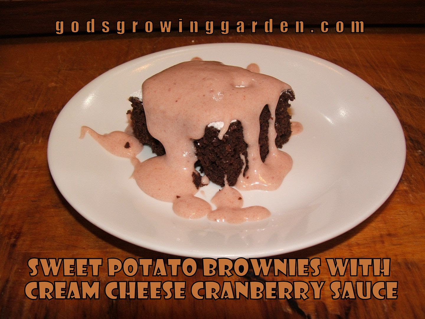 Sweet Potato Brownies by Angie Ouellette-Tower for godsgrowinggarden.com photo 010_zps83c2f98b.jpg