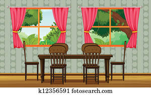 Dining room Clip Art EPS Images. 2,140 dining room clipart ...