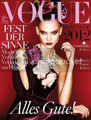 Karlie Kloss Vogue Germany December 2011
