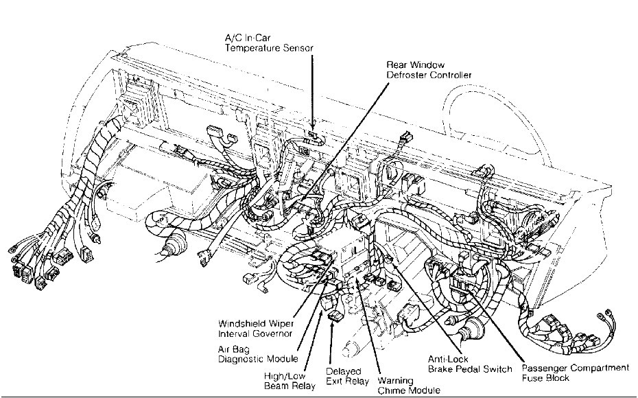 Where can I get a diagram of relay box on 1990 Ford Town ...