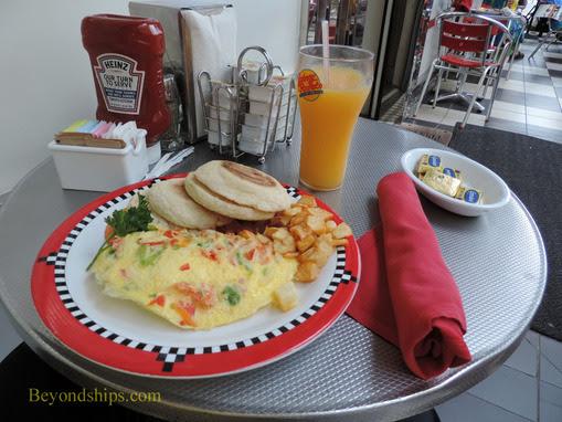 Allure of the Seas Breakfast Guide