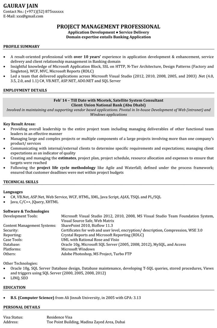 How to Write Software Engineer Resume  SampleBusinessResume.com : SampleBusinessResume.com