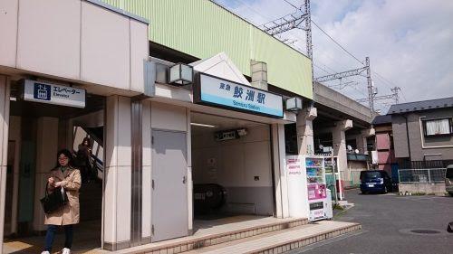 京急鮫洲駅
