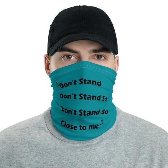 Gaiter Face Mask Near Me - MASK