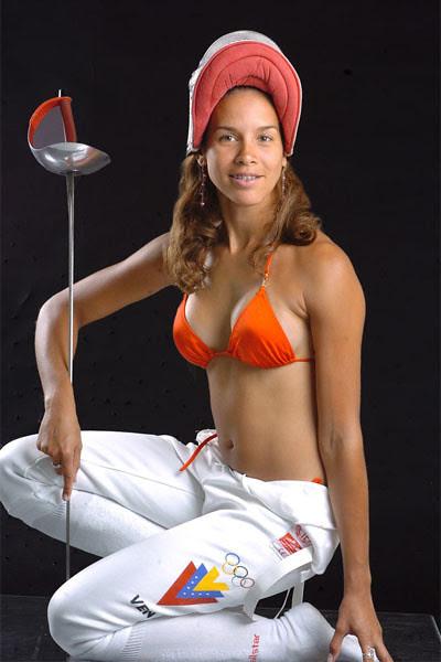 Alejandra Benitez Romero, Venezuelas Sexy New Sports