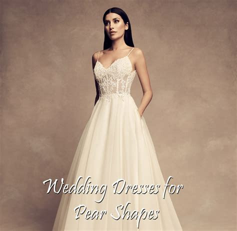 Buying A Wedding Gown For Your Body Shape: Pear   Paloma