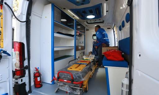 Fueron a una emergencia y les robaron los celulares de adentro de la ambulancia