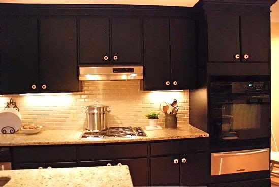 dare you to paint your cabinets black emily p freeman