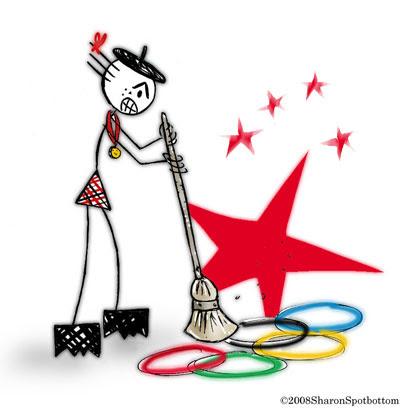 sharon sweeps olympics