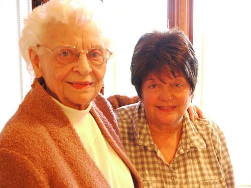 Gram and mom