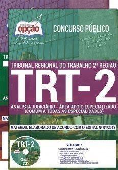Apostila Concurso TRT 2ª Região 2018 | ANALISTA JUD. - ÁREA APOIO ESPECIALIZADO (COMUM A TODAS AS ESPECIALIDADES)