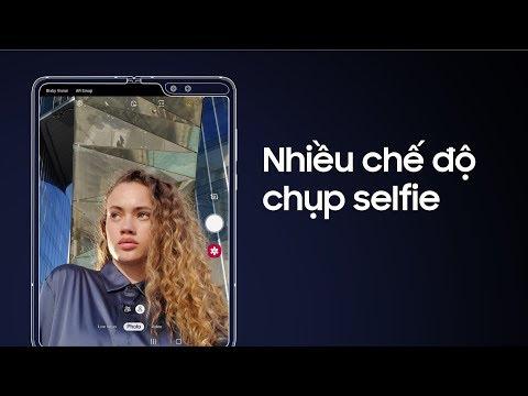 Trải nghiệm các chế độ selfie trên Galaxy Fold