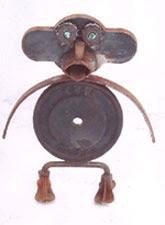 Monkey - Abstract sculptures and artwork as home decor and garden decor