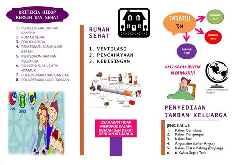leaflet phbs widya saras