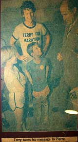 Pierre Trudeau, Terry Fox, KKL, and Pat