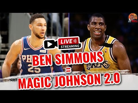 Ben Simmons Is Magic Johnson 2.0 | 'Potential NBA Hall of Fame trajector...