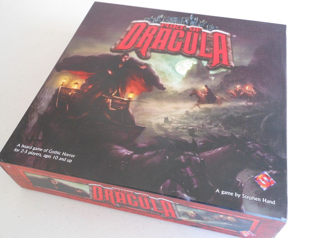 Fury of Dracula box