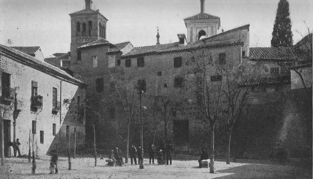 Plaza de Padilla (Toledo) a principios del siglo XX. Archivo Rodríguez