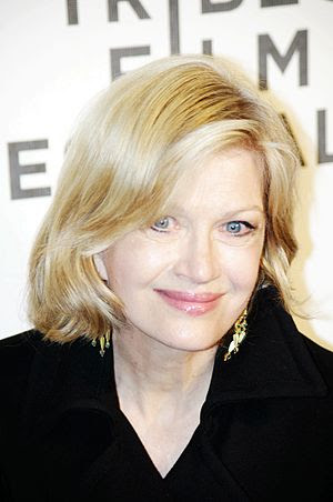 English: Diane Sawyer attending the premiere o...