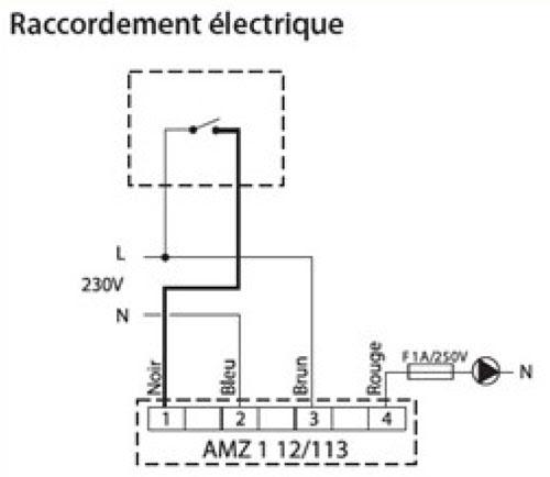 schema electrique vanne motoris e. Black Bedroom Furniture Sets. Home Design Ideas
