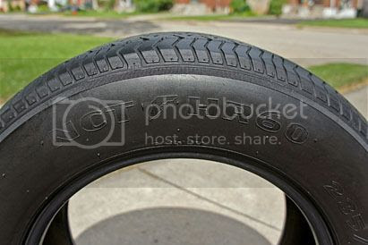 Original Goodyear NCT tire!