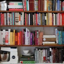 "<a href=""http://pinterest.com/poireschocolat/food-books/"">A list of My favourite food books</a>"