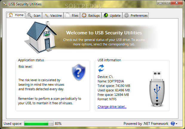 برنامج Security Utilities v1.0.11.02.2011 للحفاظ